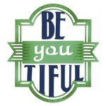 Sizzix - Me and You Collection - Thinlits Die - Phrase Be-you-tiful