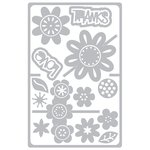 Sizzix - Framelits Die - Card with Flowers Drop-ins