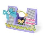 Sizzix - Framelits Die - Card, Friends Forever Step-Ups