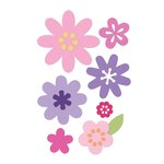 Sizzix - Thinlits Die - Flower Layers and Leaf