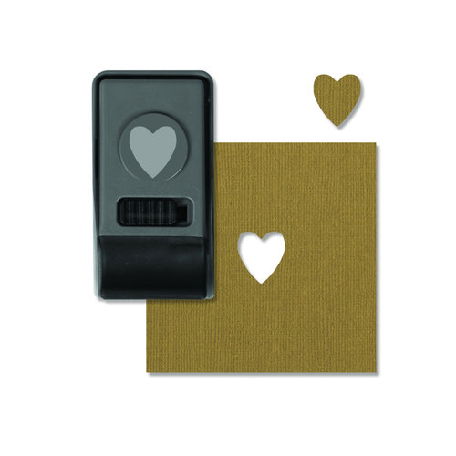Sizzix - Tim Holtz - Alterations Collection - Paper Punch - Heart, Small