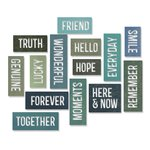 Sizzix - Tim Holtz - Alterations Collection - Thinlits Die - Block Friendship Words