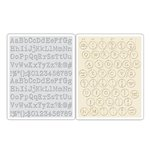 Sizzix - Tim Holtz - Alterations Collection - Texture Fades - Embossing Folders - Typewriter and Keyboard Set