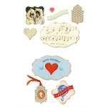 Sizzix - Favorite Things Collection - Framelits Die with Clear Acrylic Stamp Set - Bonjour, Paris