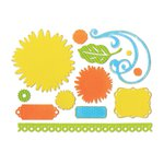 Sizzix - Favorite Things Collection - Thinlits Die - Daisy Bouquet