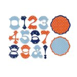 Sizzix - Favorite Things Collection - Thinlits Die - Numbers and Frames