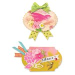 Sizzix - Favorite Things Collection - Movers and Shapers Magnetic Die - Labels