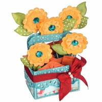 Sizzix - Bigz XL Die - Card in a Box, A2 Flower Basket