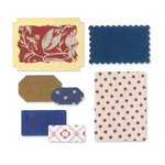 Sizzix - French General Collection - Framelits Die - Labels