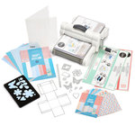 Sizzix - Big Shot Plus - Starter Kit - White and Gray