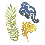 Sizzix - Thinlits Die - Seaweed, Coral and Wave