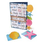 Sizzix - Bigz XL Die - Card and Mini Cards, Seashells and Starfish