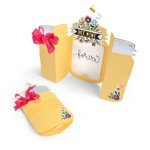 Sizzix - Hello Love Collection - Thinlits Die - Card, Jar Fold-a-Long