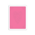Sizzix - Hello Love Collection - Textured Impressions - Embossing Folder - Heartfelt Impressions