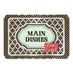 Sizzix - Life Made Simple Cooking Collection - Thinlits Die - Recipe Card