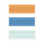 Sizzix - Textured Impressions - Embossing Folders - Flowers and Dots Set