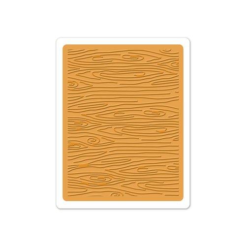 Sizzix - Doodlebug - Textured Impressions - Embossing Folder - Woodgrain 3