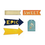 Sizzix - Jillibean Soup - Thinlits Die - Epic and Sweet
