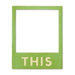 Sizzix - Jillibean Soup - Thinlits Die - Photo Frame, This