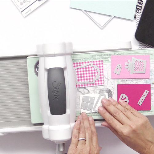 Sizzix - Big Shot Machine - White and Gray