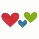 Sizzix - Echo Park - Bigz Die - Heart Trio