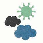 Sizzix - Echo Park - Bigz Die - Sun and Clouds