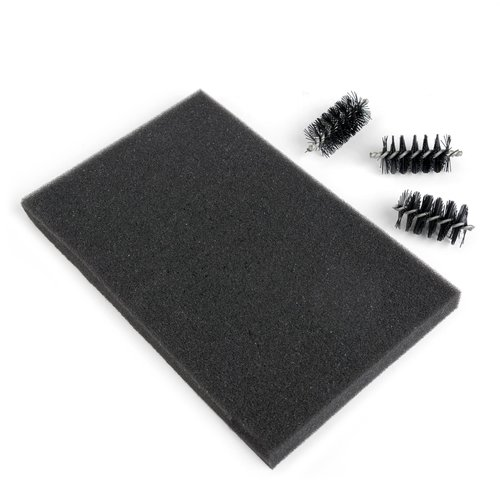 Sizzix - Accessory - Replacement Die Brush Rollers and Foam Pad for Wafer-Thin Dies