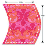Sizzix - Fabi Bigz Die - Wave, 3.88 Inch x 4.5 Inch Finished