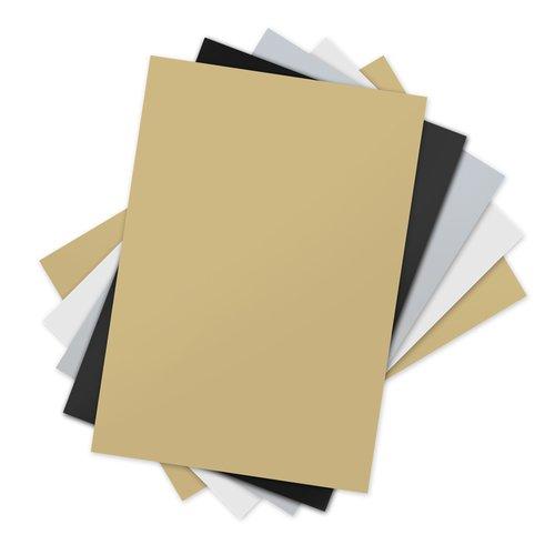 Sizzix - Inksheets - 4 x 6 Transfer Film - Assorted - 5 Sheets