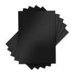 Sizzix - Inksheets - 4 x 6 Transfer Film - Black - 5 Sheets