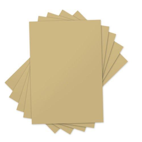 Sizzix - Inksheets - 4 x 6 Transfer Film - Gold - 5 Sheets