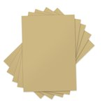 Sizzix - Inksheets - 4 x 6 Transfer Film - Gold - 5 Sheets