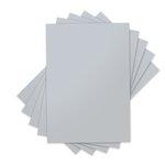 Sizzix - Inksheets - 4 x 6 Transfer Film - Silver - 5 Sheets