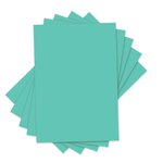 Sizzix - Inksheets - 4 x 6 Transfer Film - Green - 5 Sheets