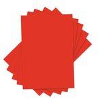 Sizzix - Inksheets - 4 x 6 Transfer Film - Red - 5 Sheets