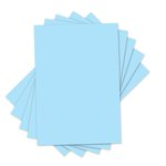 Sizzix - Inksheets - 4 x 6 Transfer Film - Light Blue - 5 Sheets
