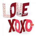 Sizzix - Bigz Plus Die - Phrases - Love and XOXO