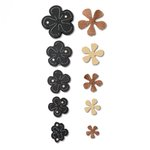 Sizzix - Leather Jewelry Collection - Movers and Shapers DIe - Carnation Stack