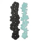 Sizzix - Leather Jewelry Collection - Movers and Shapers Die - Bracelet, Floral