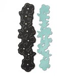 Sizzix - Leather Jewelry Collection - Movers and Shapers DIe - Floral Bracelet