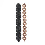 Sizzix - Leather Jewelry Collection - Movers and Shapers Die - Bracelet, Cable Chain