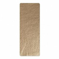 Sizzix - Leather Cowhide - 3 x 9 - Metallic Gold