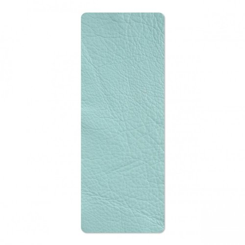 Sizzix - Leather Cowhide - 3 x 9 - Turquoise