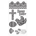 Sizzix - Clear Acrylic Stamps - Easter