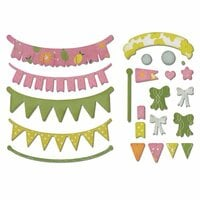Sizzix - Thinlits Die - A Bright Harvest Banners
