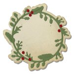 Sizzix - Winter Wishes Collection - Christmas - Thinlits Die - Winter Wreath