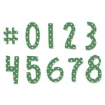 Sizzix - Homegrown and Handmade Collection - Framelits Die with Clear Acrylic Stamps - Fresh Blossoms Numbers
