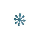 Sizzix - Homegrown and Handmade Collection - Christmas - Originals Die - Snowflake 4