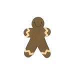 Sizzix - Homegrown and Handmade Collection - Christmas - Originals Die - Gingerbread Man 4