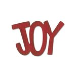 Sizzix - Homegrown and Handmade Collection - Christmas - Originals Die - Phrase, Joy 3